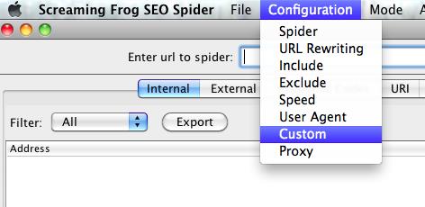 Custom Check for Analytics Code