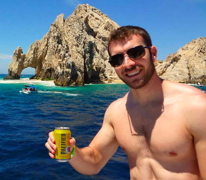 Trevor Ayers in Cabo