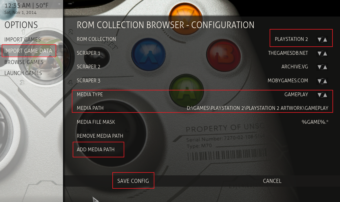 How to Set Up Rom Collection Browser XBMC (Kodi)