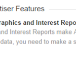 Analytics Demographics and Interests