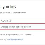 Change Default PayPal Payment Method