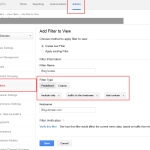 Adjust Filters Analytics