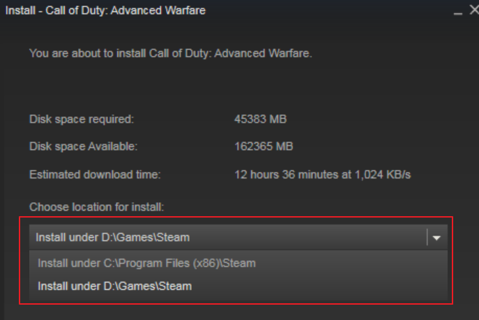 Add Secondary Steam Library