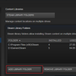 Add Steam Game Library