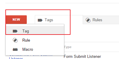Add Tag for Mailto Event Listener