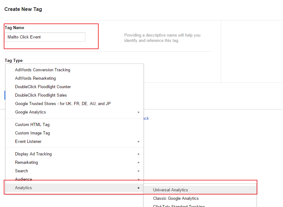 Mailto Tracking as Events Google Tag Manager