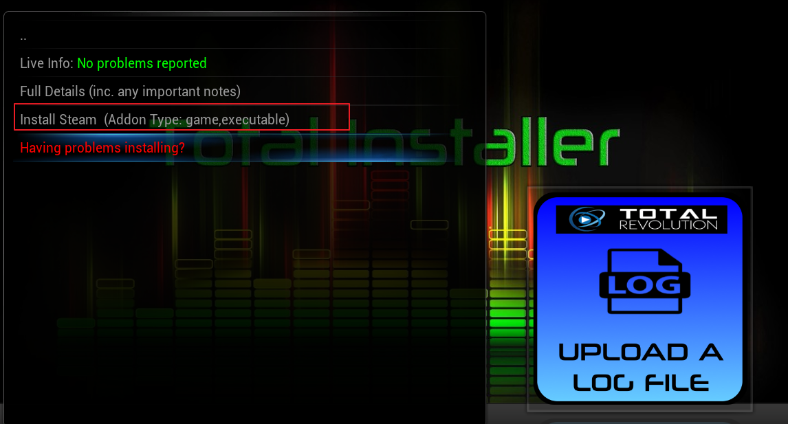 Steam Launcher from Total Installer