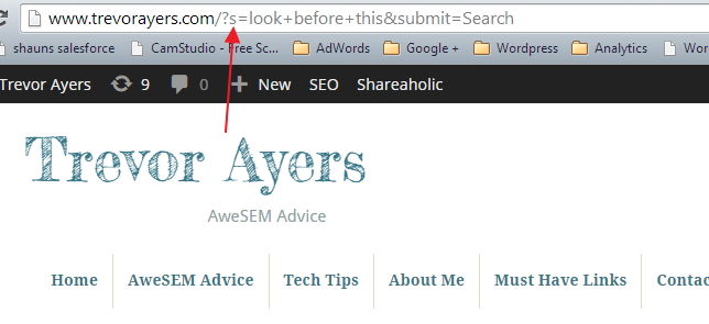 Track Internal Site Search in Google Analytics