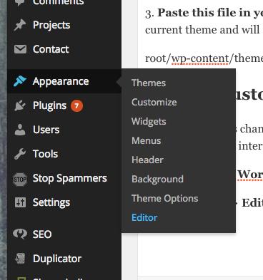 Customize WordPress 404 Error Page