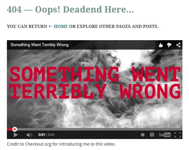 How To Customize Wordpress 404 Error Page