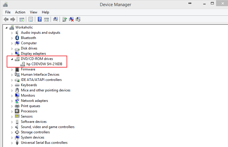 How To Fix Optical Drive Not Showing as Drive in My Computer Windows Issue