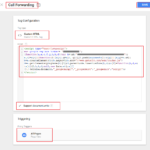 Google Website Phone Call Forwarding with GTM