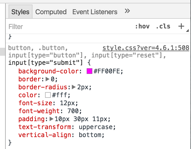update-css-in-live-environment